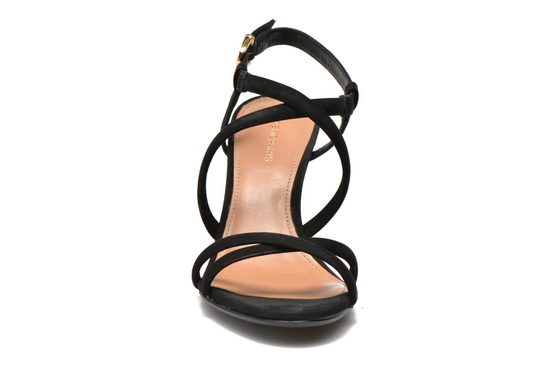 Sandales et nu-pieds COSMOPARIS Adalina/vel Noir vue portées chaussures