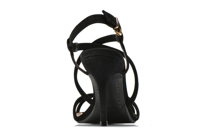 Sandales et nu-pieds COSMOPARIS Adalina/vel Noir vue droite
