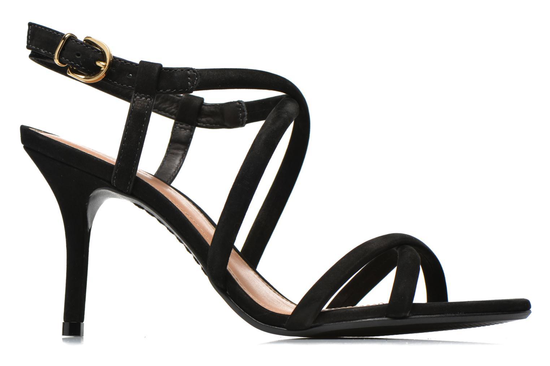 Sandales et nu-pieds COSMOPARIS Adalina/vel Noir vue derrière