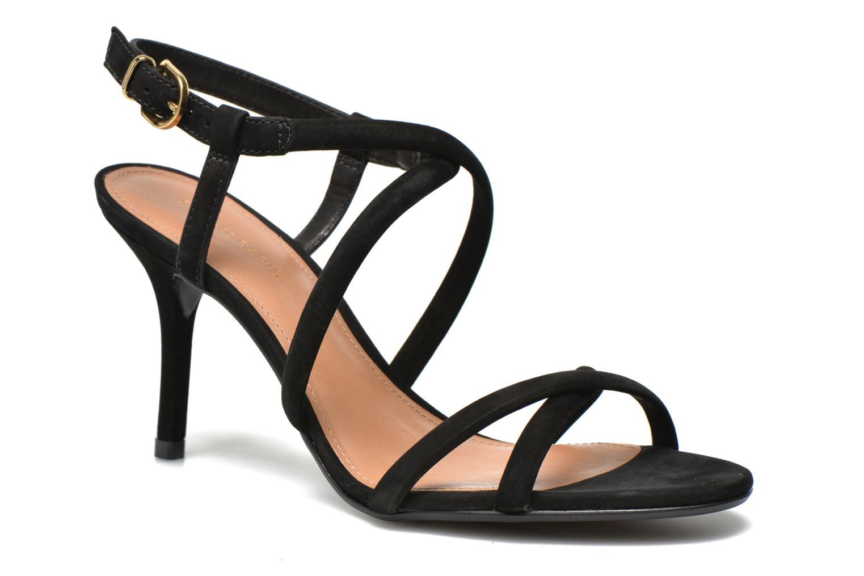 Sandales et nu-pieds COSMOPARIS Adalina/vel Noir vue détail/paire