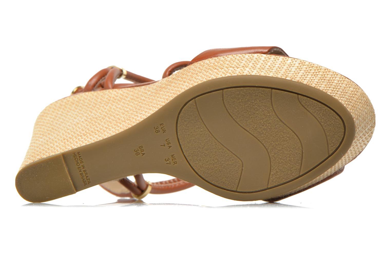 Sandalen COSMOPARIS Cladi braun ansicht von oben