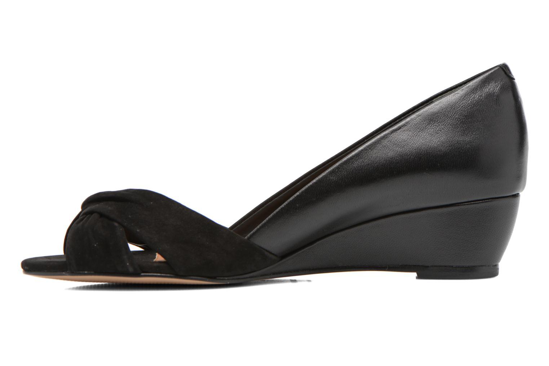 High heels COSMOPARIS Ataya/bi Black front view