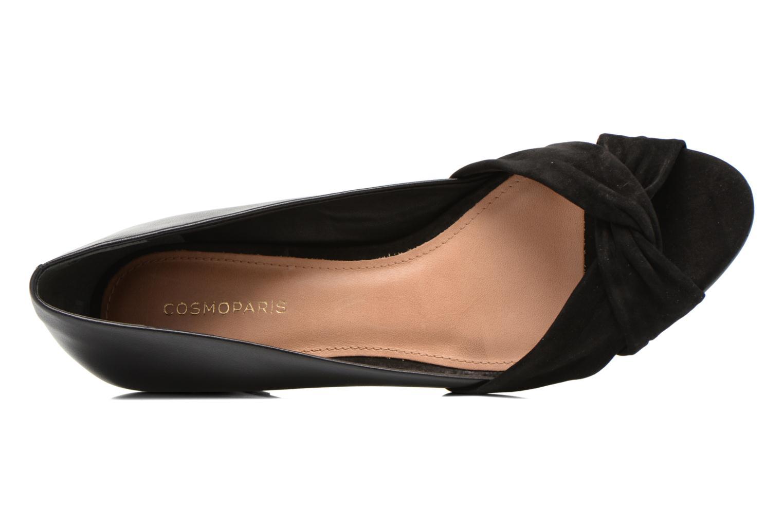 High heels COSMOPARIS Ataya/bi Black view from the left