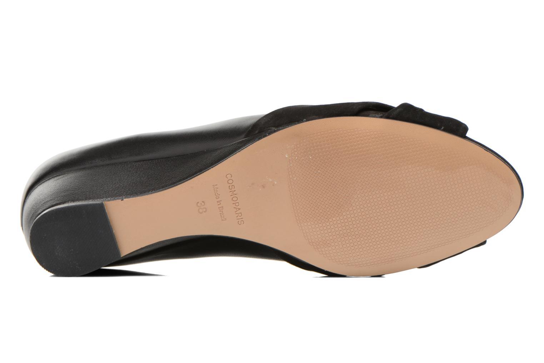 High heels COSMOPARIS Ataya/bi Black view from above