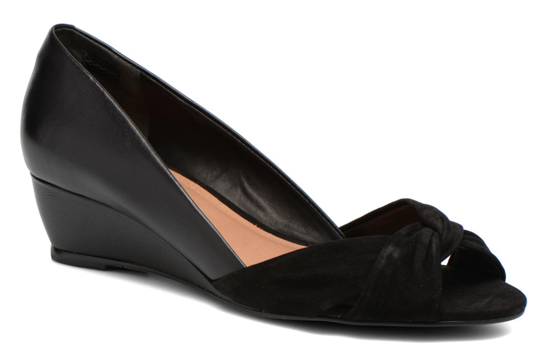 High heels COSMOPARIS Ataya/bi Black detailed view/ Pair view