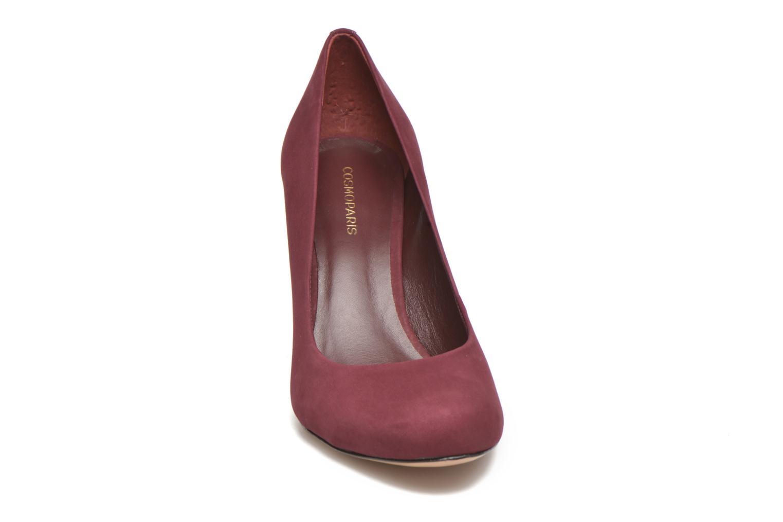 Zapatos de tacón COSMOPARIS Jelissa nub Vino vista del modelo