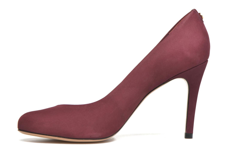 High heels COSMOPARIS Jelissa nub Burgundy front view