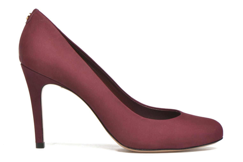 High heels COSMOPARIS Jelissa nub Burgundy back view