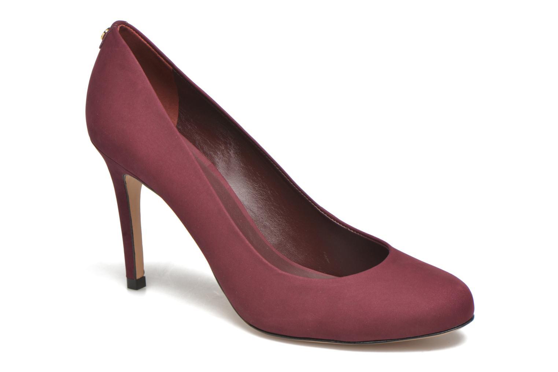 High heels COSMOPARIS Jelissa nub Burgundy detailed view/ Pair view