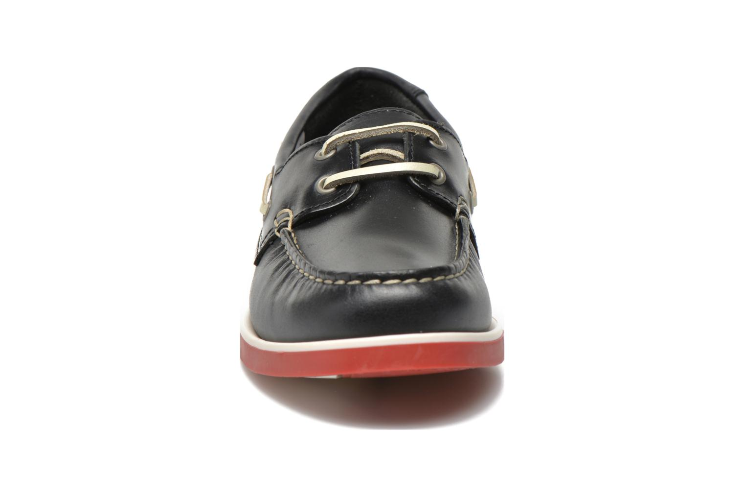 Lace-up shoes Aigle America Kid Blue model view