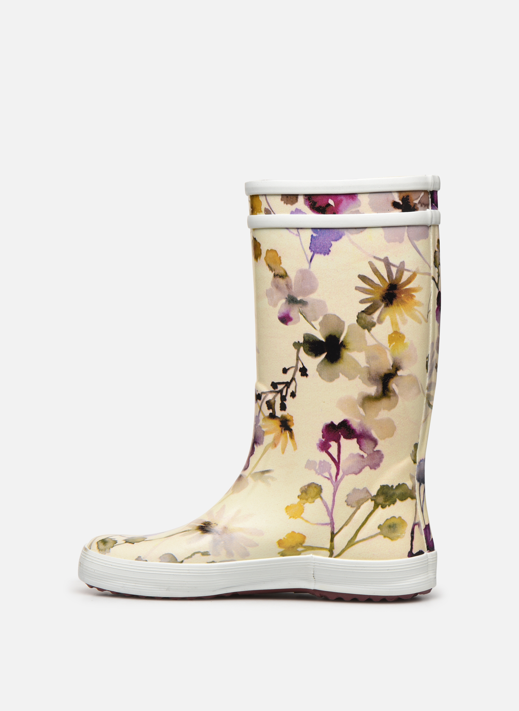 Bottes Aigle Lolly Pop Kid Multicolore vue face