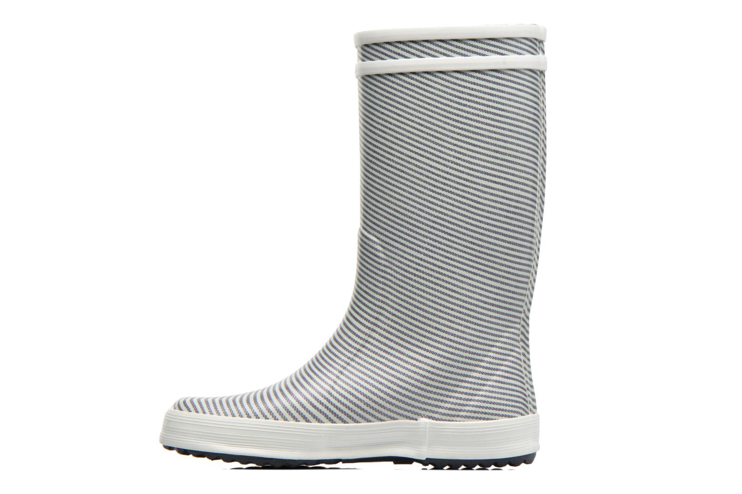 Bottes Aigle Lolly Pop Kid Gris vue face