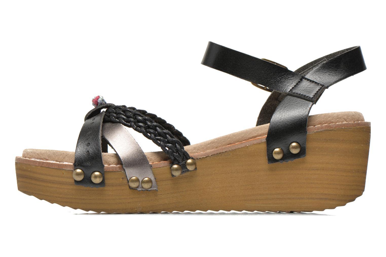 Sandalen Coolway Celine Zwart voorkant