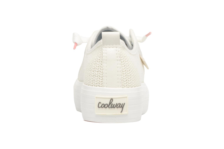 Sneaker Coolway tavi weiß ansicht von rechts