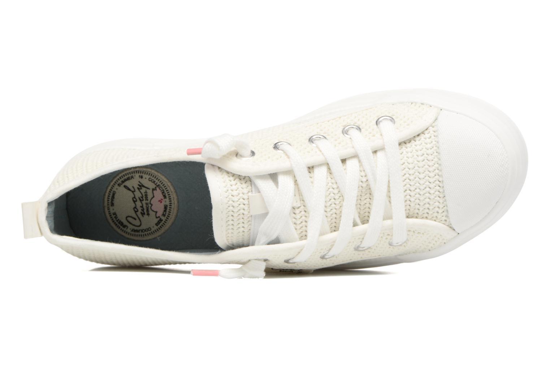 Sneaker Coolway tavi weiß ansicht von links