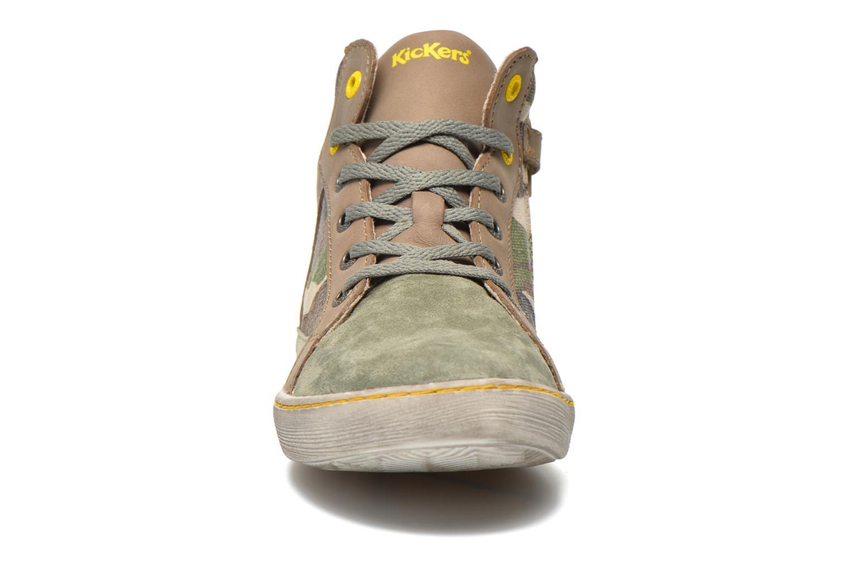 Sneakers Kickers Lynx Grøn se skoene på