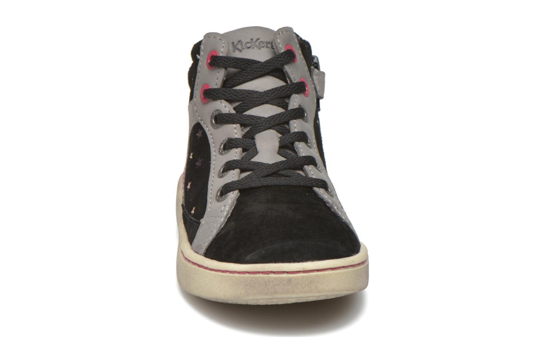 Baskets Kickers Lynx Noir vue portées chaussures