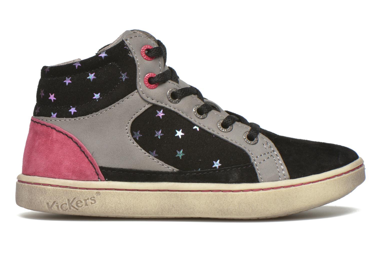 Sneakers Kickers Lynx Sort se bagfra