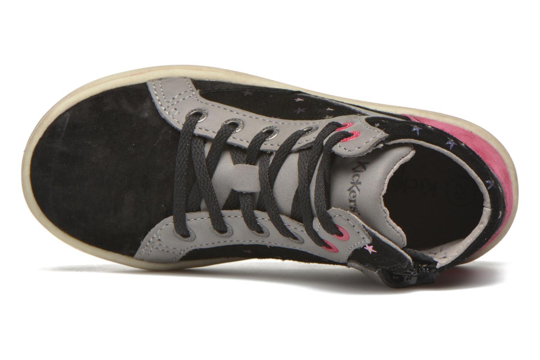 Sneakers Kickers Lynx Sort se fra venstre