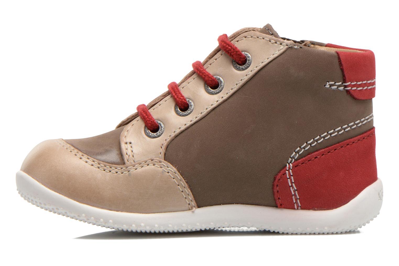 Stiefeletten & Boots Kickers Be French braun ansicht von vorne