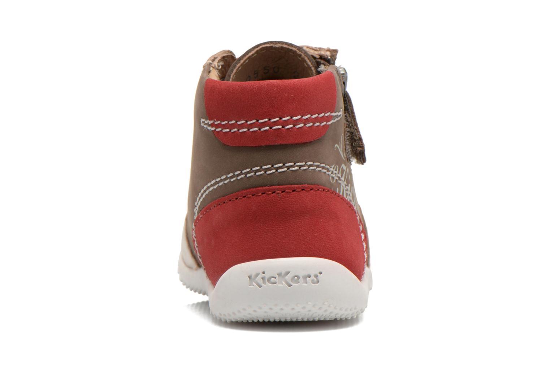 Stiefeletten & Boots Kickers Be French braun ansicht von rechts
