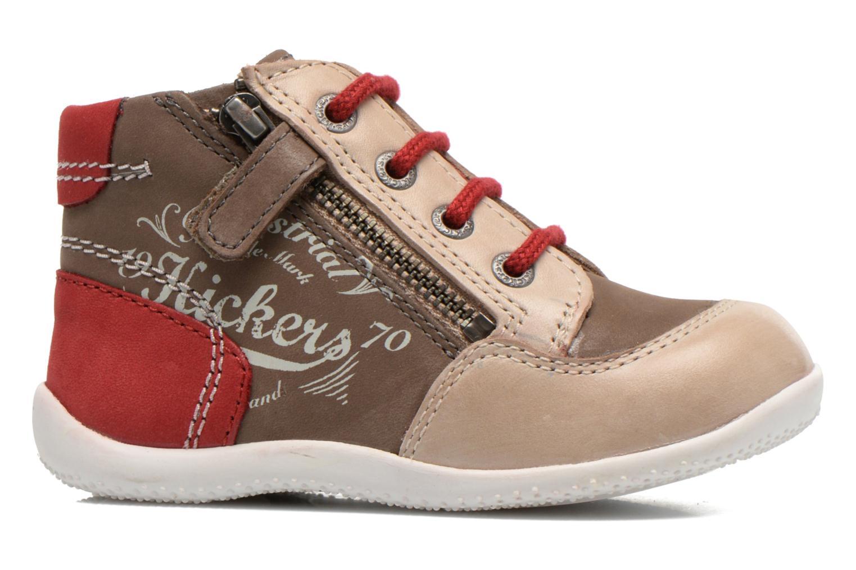 Stiefeletten & Boots Kickers Be French braun ansicht von hinten