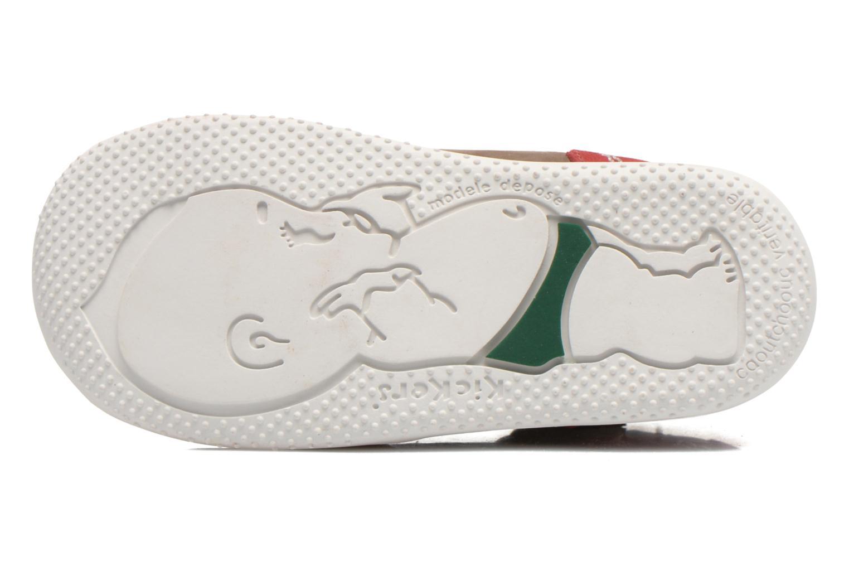 Stiefeletten & Boots Kickers Be French braun ansicht von oben