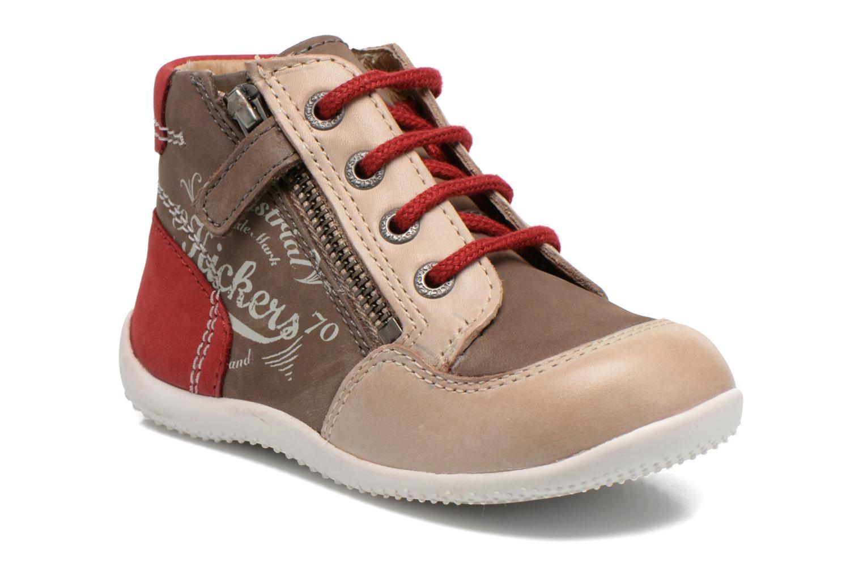 Stiefeletten & Boots Kickers Be French braun detaillierte ansicht/modell