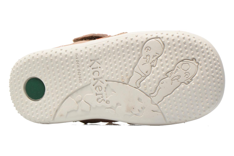 Sandalen Kickers Gift Kids beige ansicht von oben