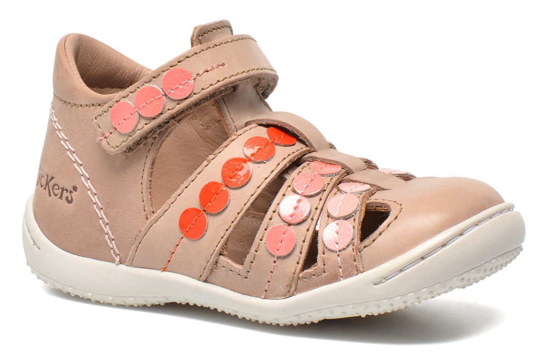 Sandalen Kickers Gift Kids beige detaillierte ansicht/modell