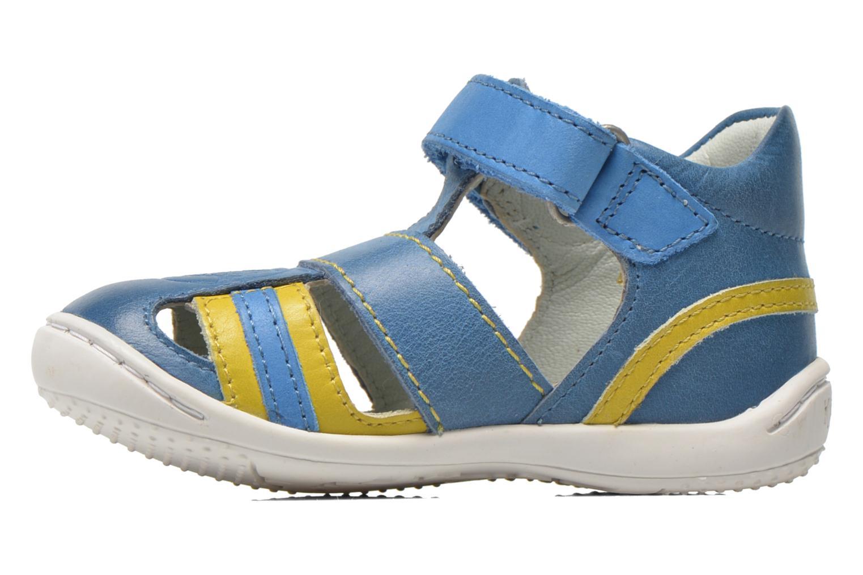 Sandalias Kickers Glups Azul vista de frente