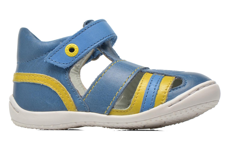 Sandales et nu-pieds Kickers Glups Bleu vue derrière