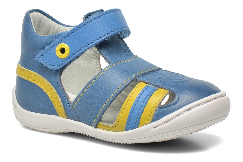 Sandalias Kickers Glups Azul vista de detalle / par