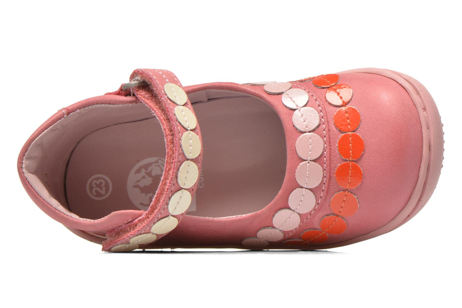 Ballerinas Kickers Girly rosa ansicht von links