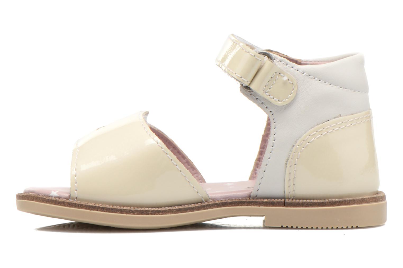 Sandales et nu-pieds Kickers Moonstar Blanc vue face