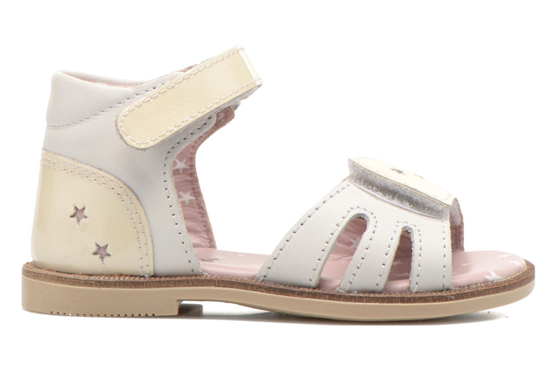 Sandales et nu-pieds Kickers Moonstar Blanc vue derrière
