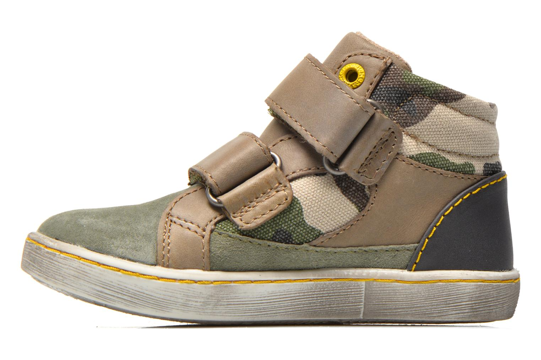 Sneakers Kickers Lyvio Grøn se forfra
