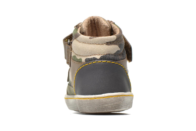 Sneakers Kickers Lyvio Grøn Se fra højre