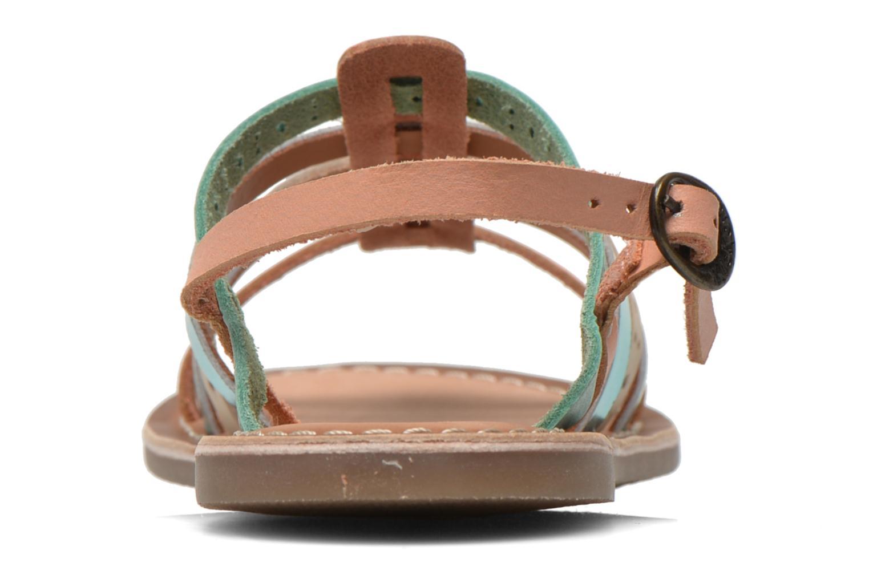 Sandales et nu-pieds Kickers Dixmillion Perf Bleu vue droite