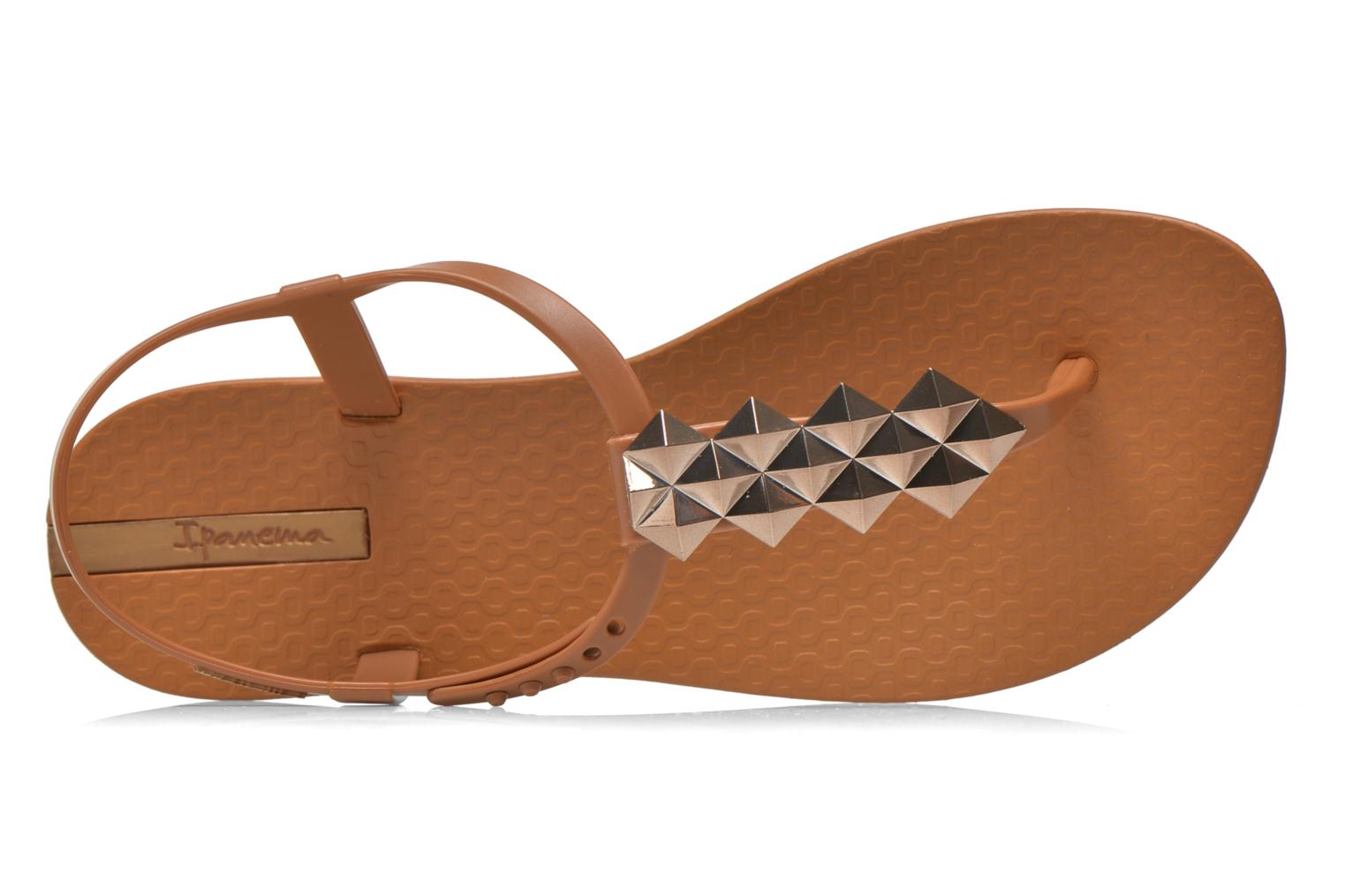 Sandals Ipanema Charm III Sandal Brown view from the left