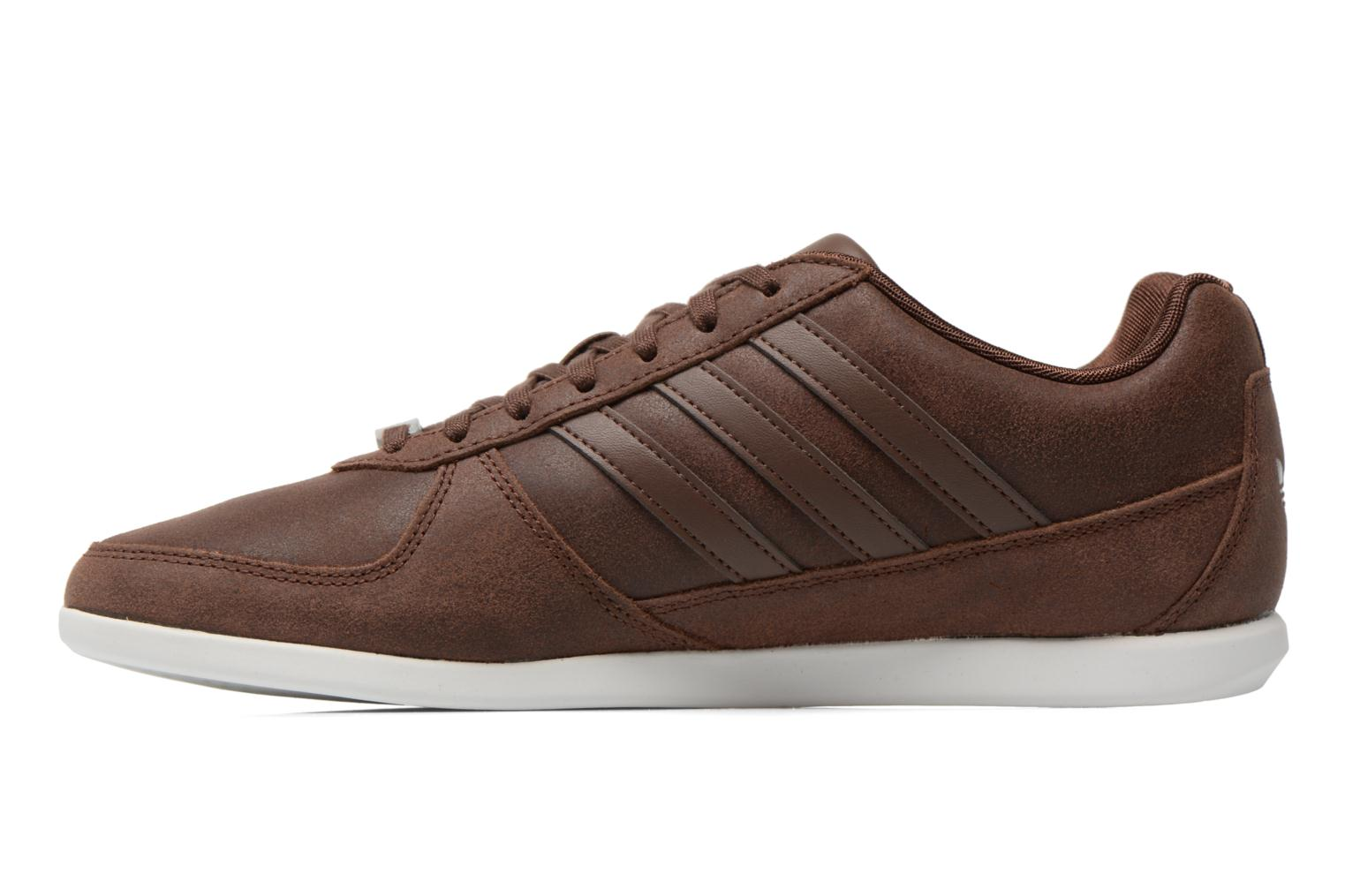 Baskets Adidas Originals Porsche 360 1.2 Suede Marron vue face