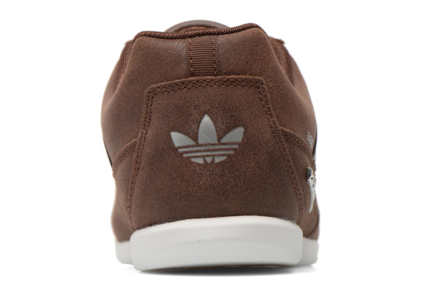 Baskets Adidas Originals Porsche 360 1.2 Suede Marron vue droite