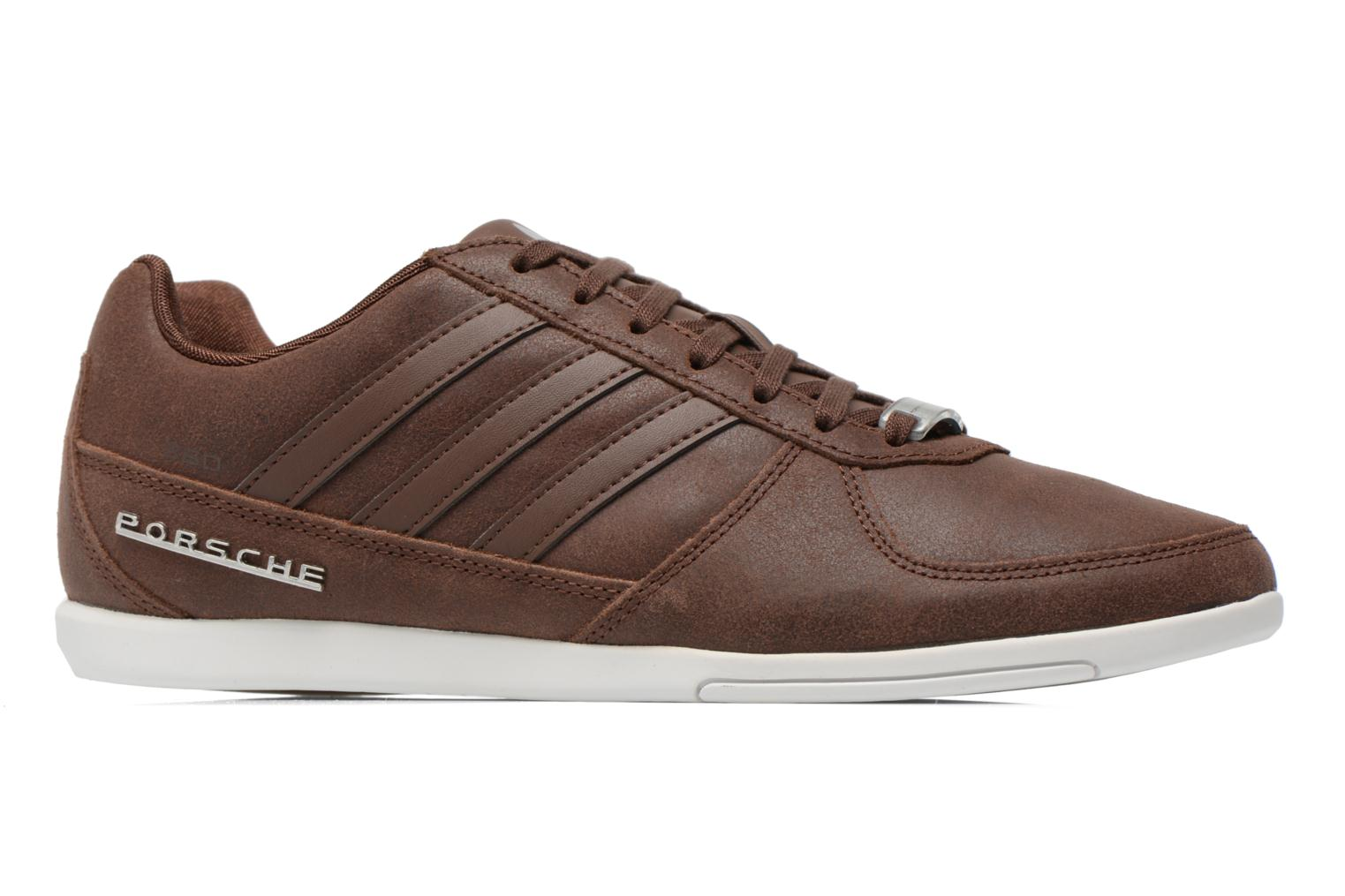 Baskets Adidas Originals Porsche 360 1.2 Suede Marron vue derrière