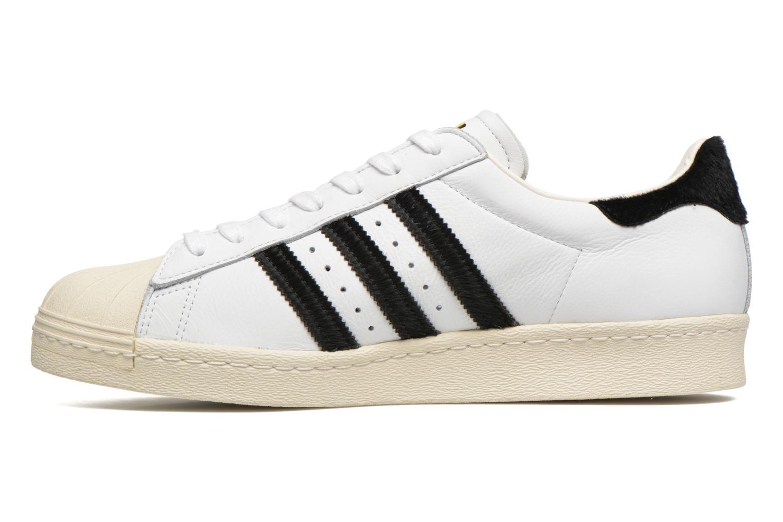 Sneakers Adidas Originals Superstar 80S Wit voorkant
