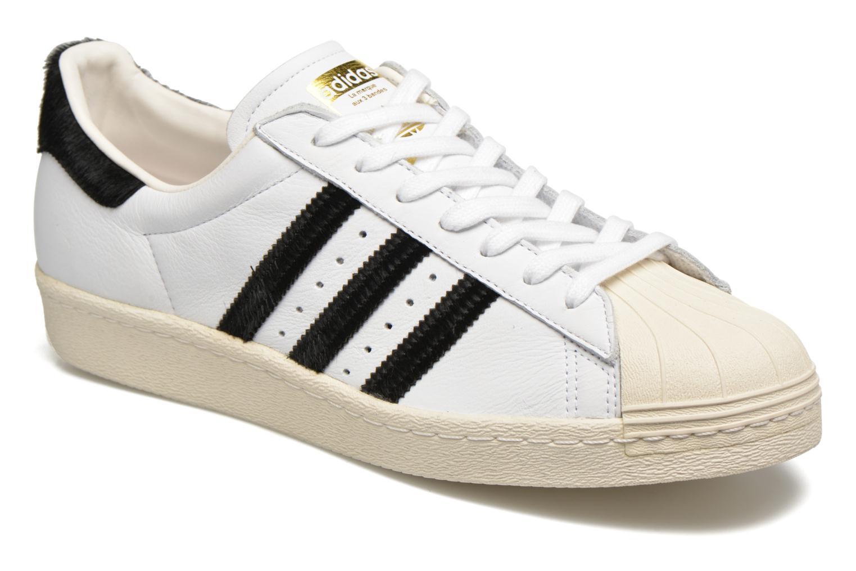 Sneakers Adidas Originals Superstar 80S Wit detail