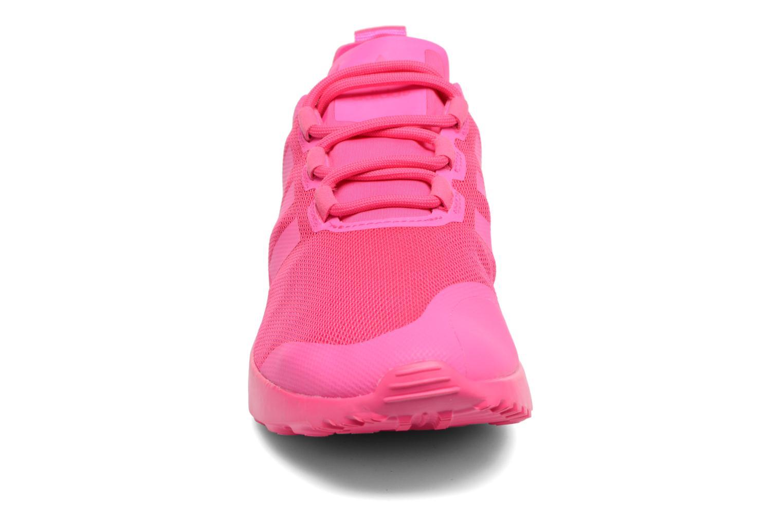 Baskets Adidas Originals Zx Flux Adv Verve W Rose vue portées chaussures