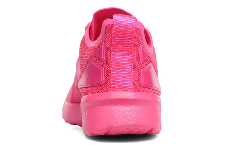 Deportivas Adidas Originals Zx Flux Adv Verve W Rosa vista lateral derecha
