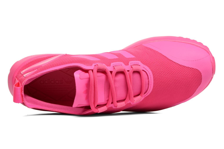 Deportivas Adidas Originals Zx Flux Adv Verve W Rosa vista lateral izquierda
