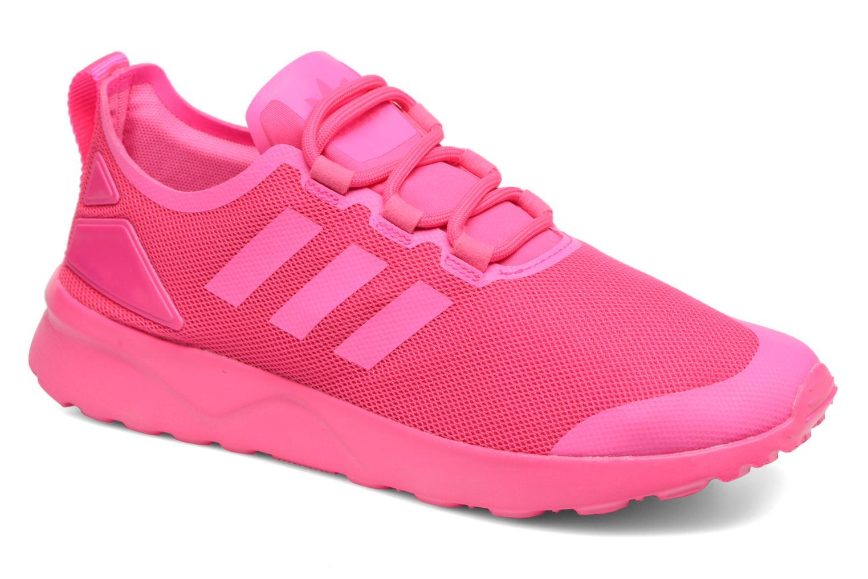 Baskets Adidas Originals Zx Flux Adv Verve W Rose vue détail/paire