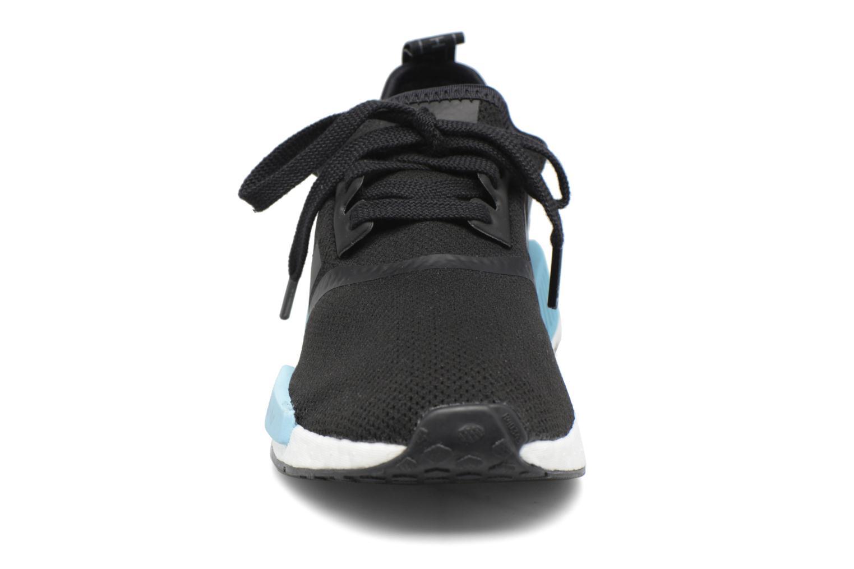 Sneaker Adidas Originals Nmd_R1 W blau schuhe getragen